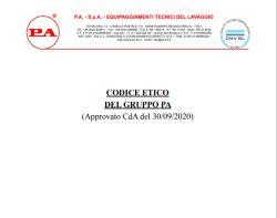 CODICE ETICO GRUPPO PA
